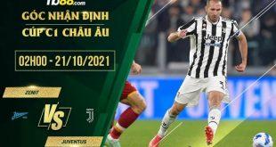 Soi kèo nhà cái Zenit vs Juventus